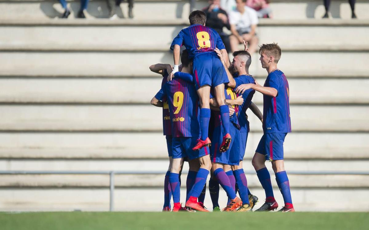 The best goals of the week from La Masia