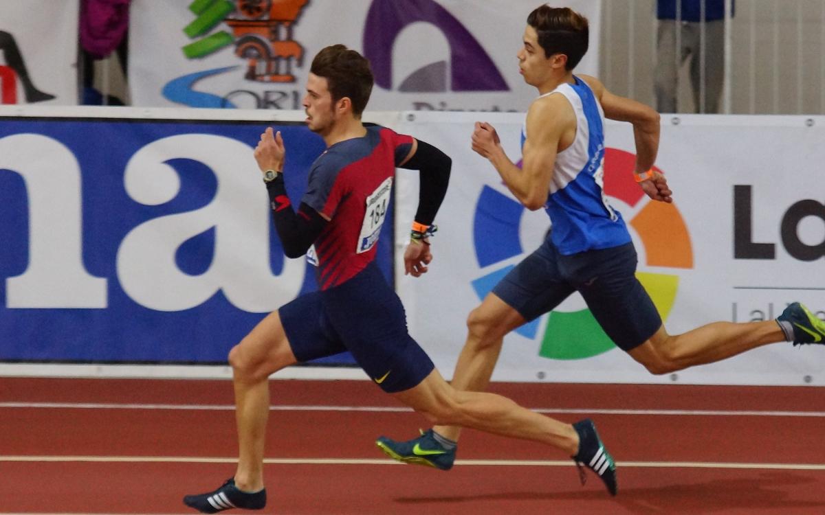 Óscar Husillos descalificado tras ganar los 400 metros