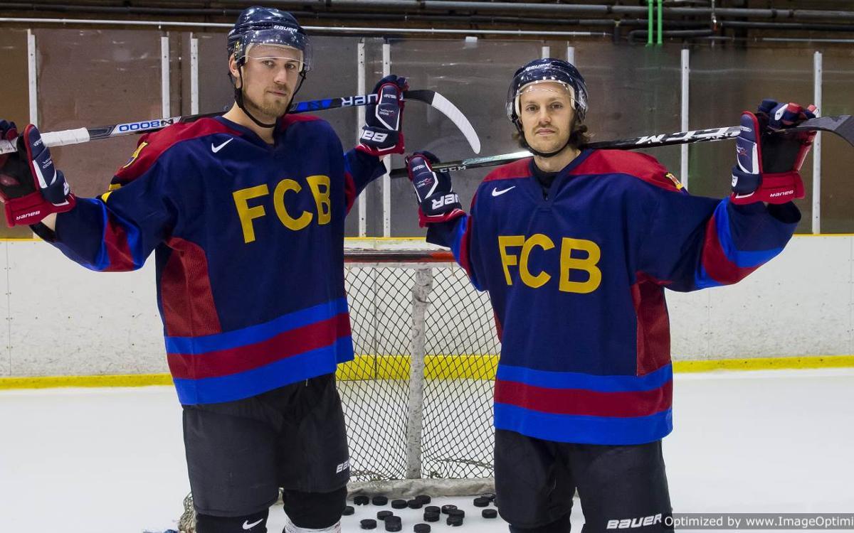 Marcus Wallmark i Alexander Boström confien a superar el CH Jaca