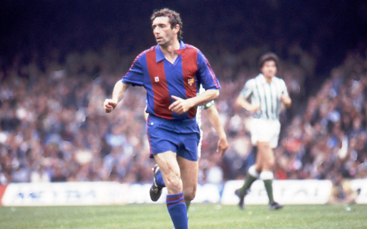 FC Barcelona legend Quini dies aged 68