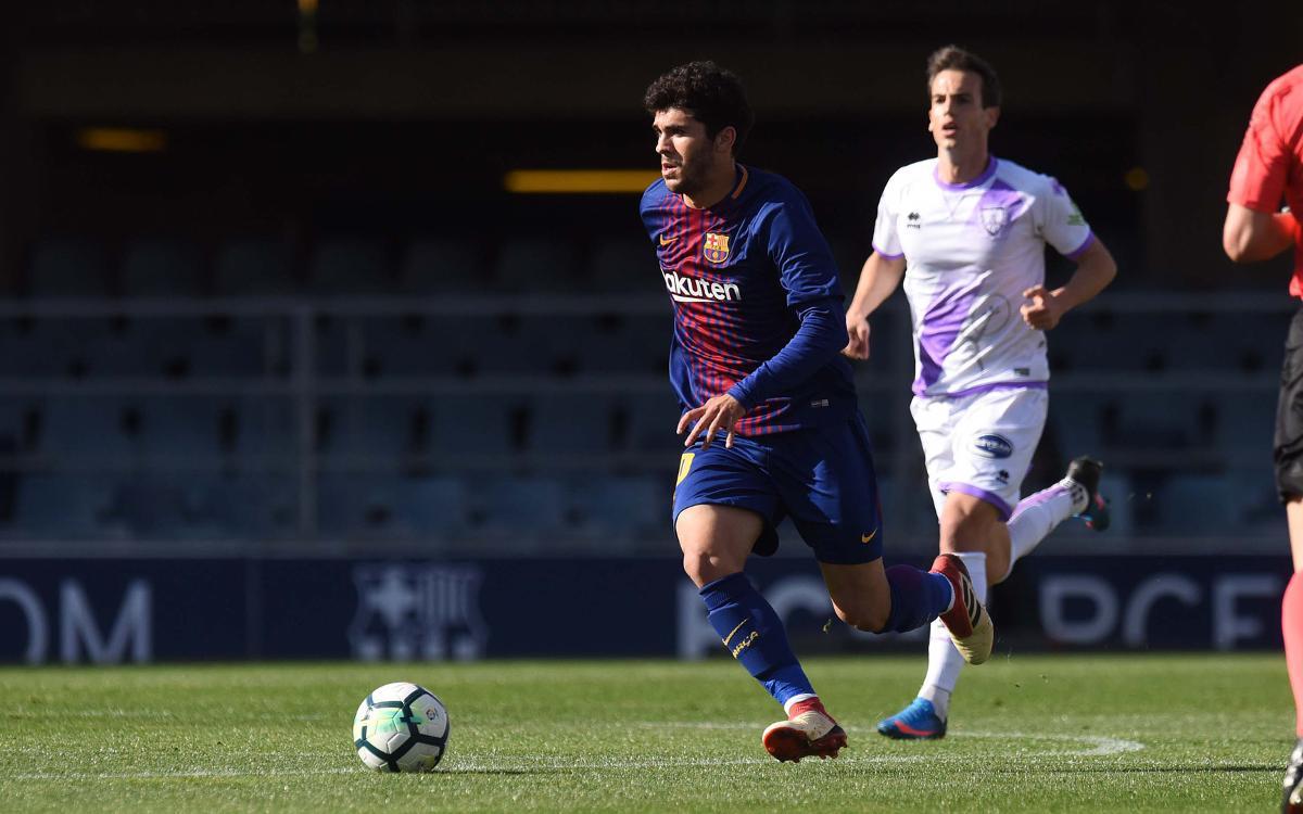 FC Barcelona B - Numància: Empat agredolç (2-2)