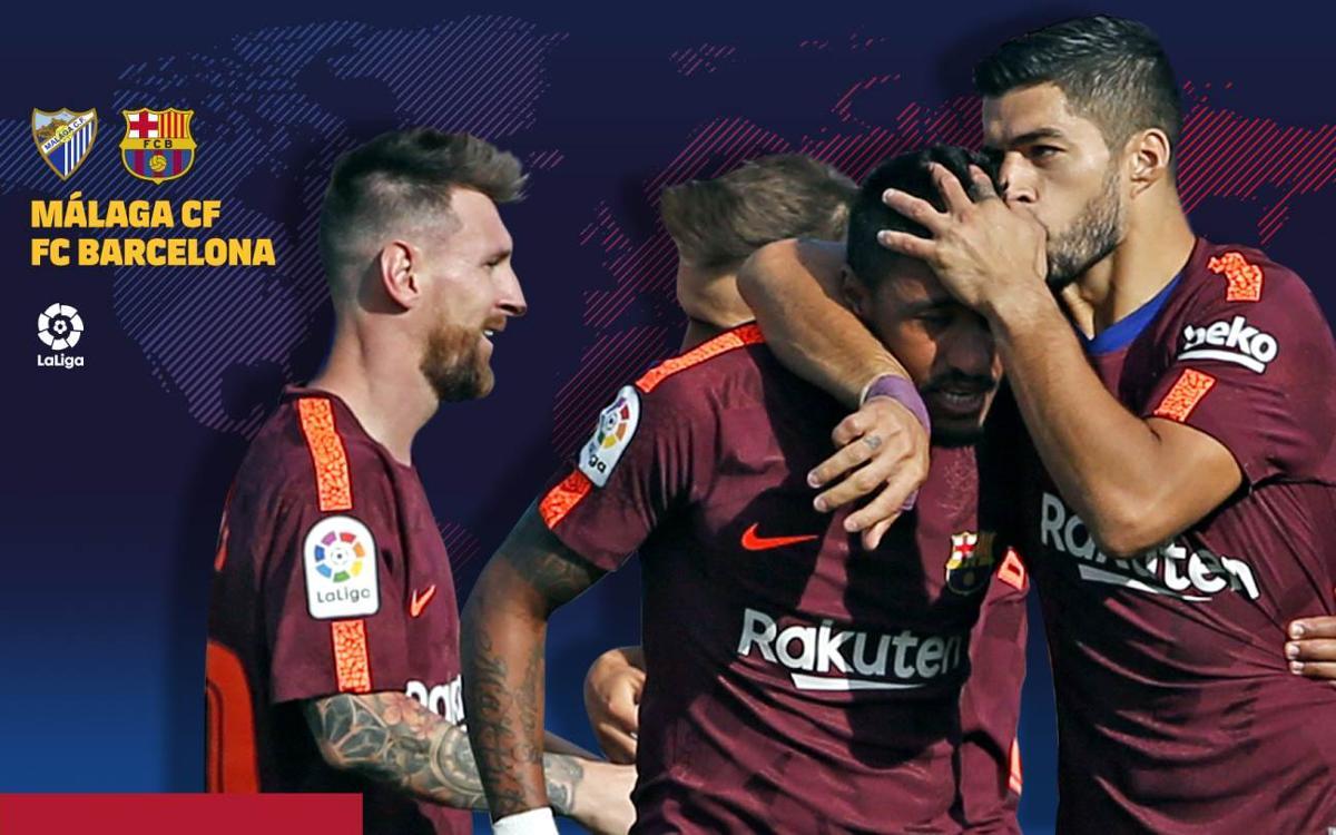 Quan i on es pot veure el Màlaga CF-FC Barcelona
