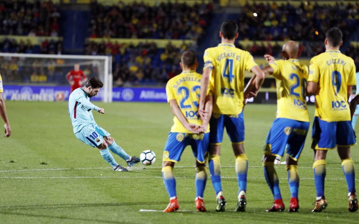 El resumen del empate en Las Palmas