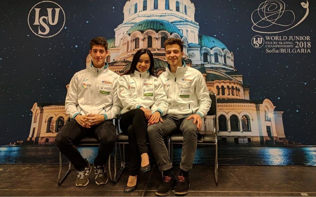 Aleix Gabara y Tòn Cónsul firman un gran papel en el Mundial Junior de Patinaje artístico