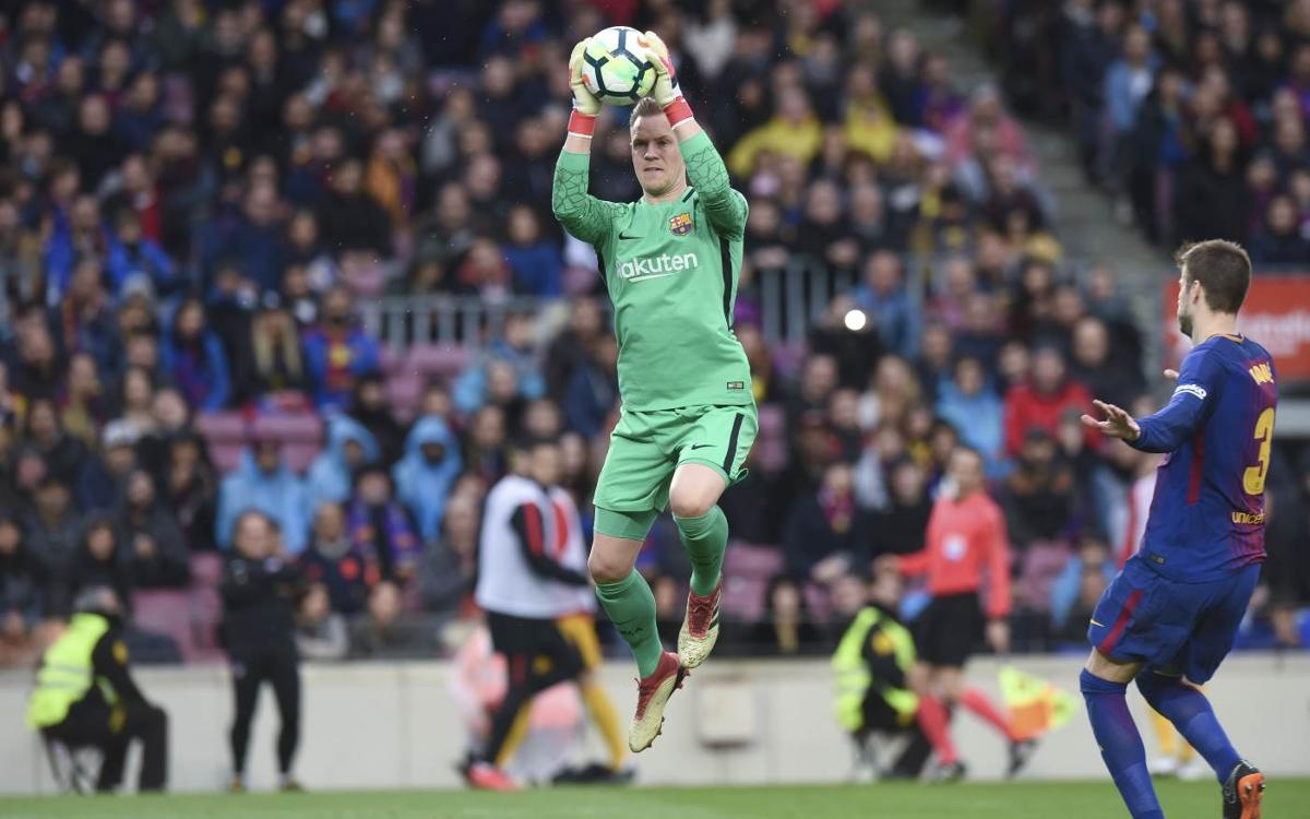 Ter Stegen and Barça have a closet full of clean sheets