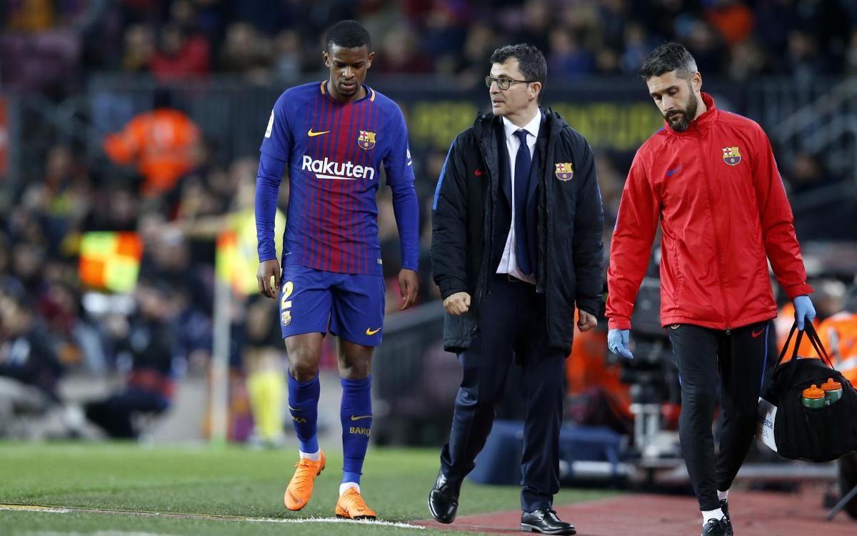 Nélson Semedo to be out approximately five weeks