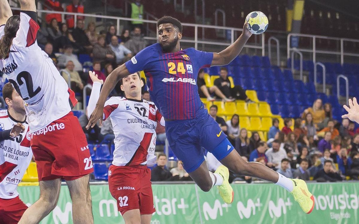 Barça Lassa – BM Logroño La Rioja: Imposing win (37-27)