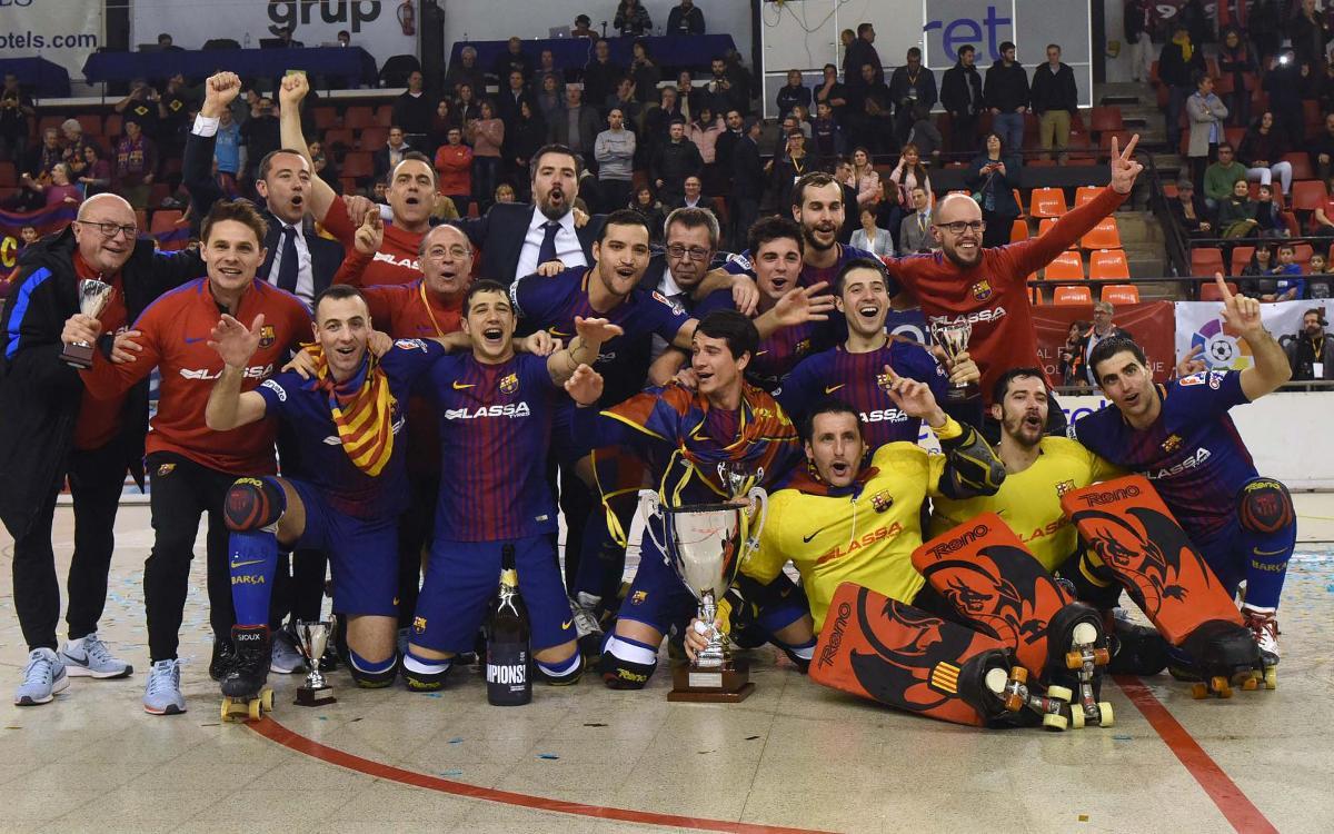 Liceo - FC Barcelona Lassa: ¡Campeones de Copa! (1-2)