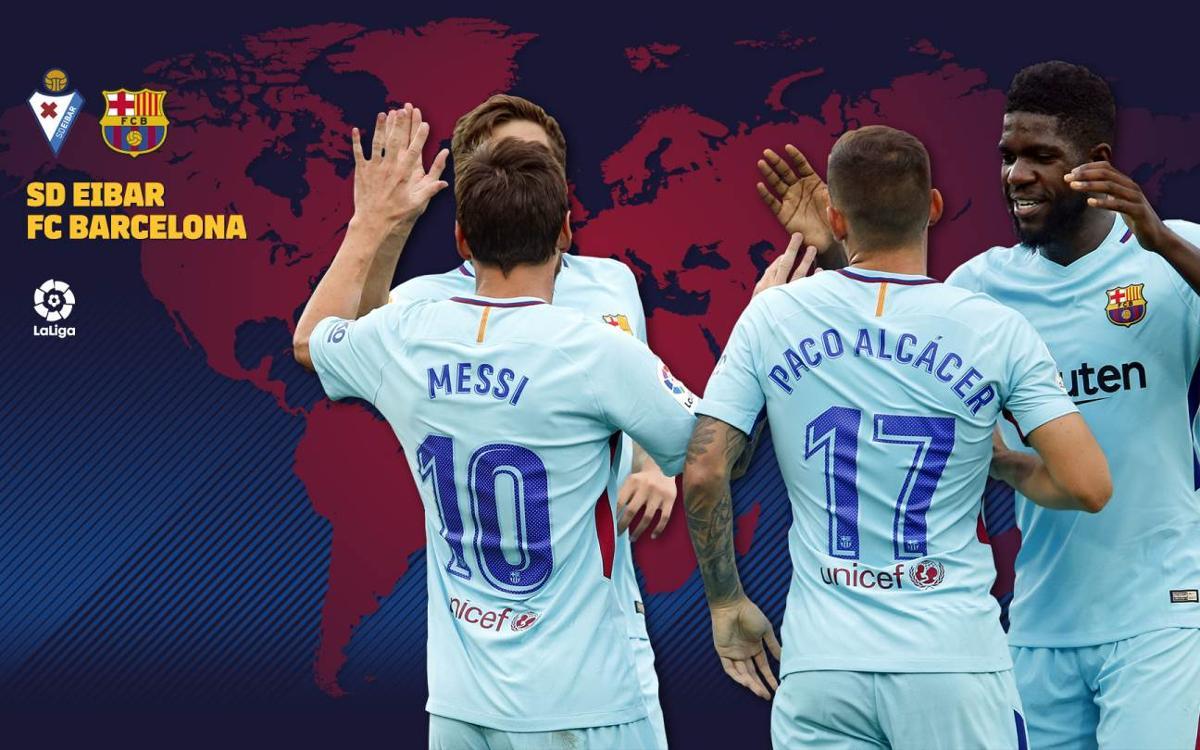 Cuándo y dónde se puede ver el Eibar - FC Barcelona