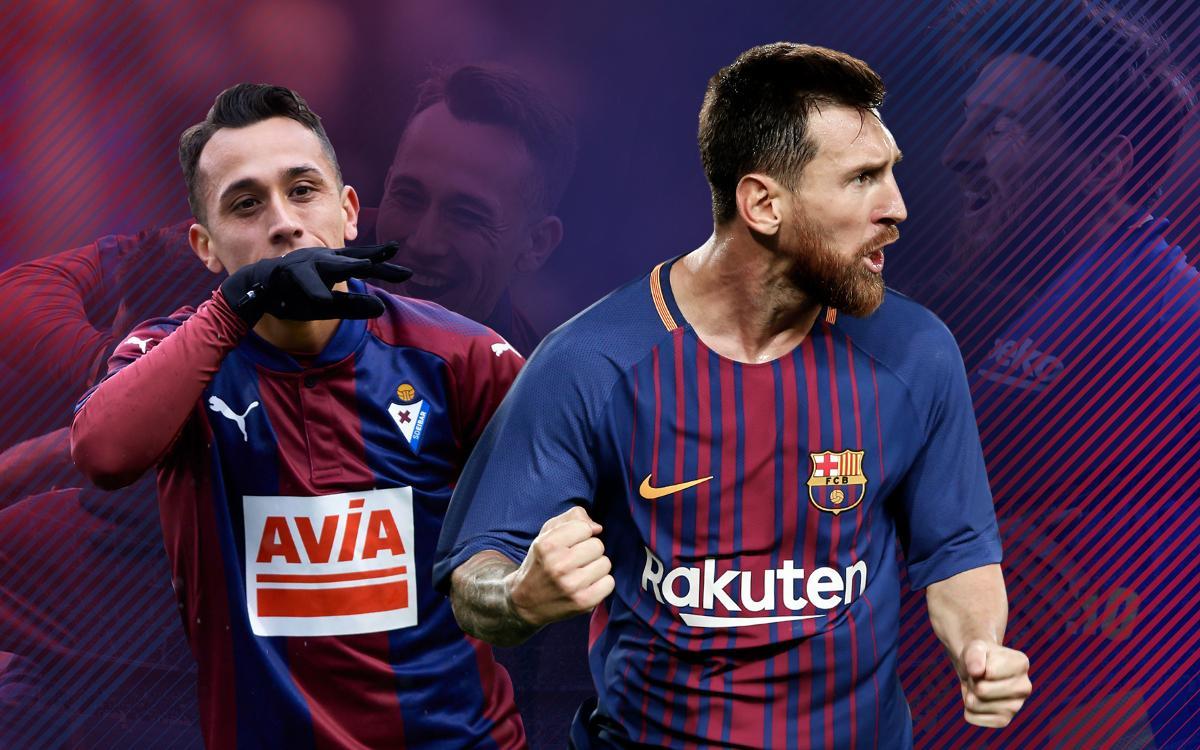 L'Eibar i el Barça, dos equips en un gran moment