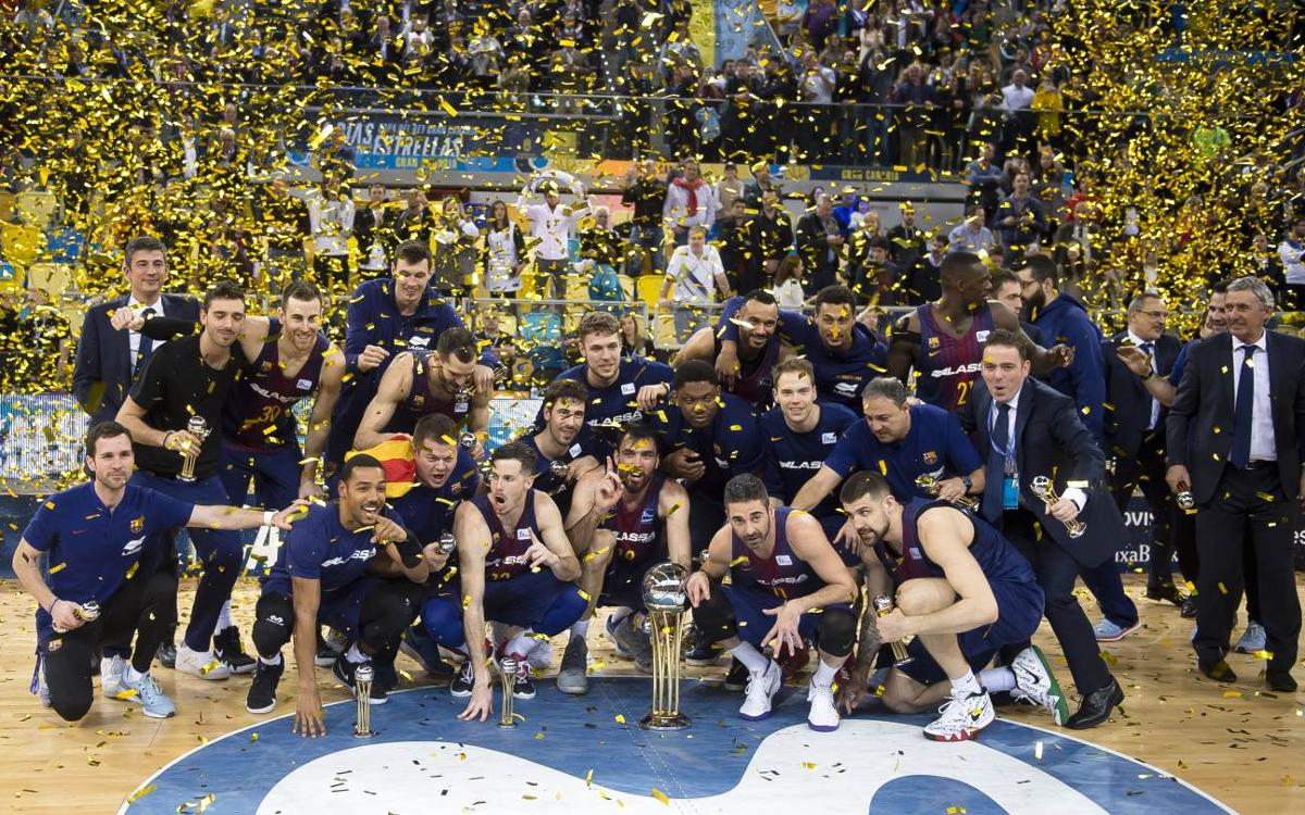 RECAP: Barça Lassa hangs on to win Copa del Rey with 92–90 triumph over Real Madrid