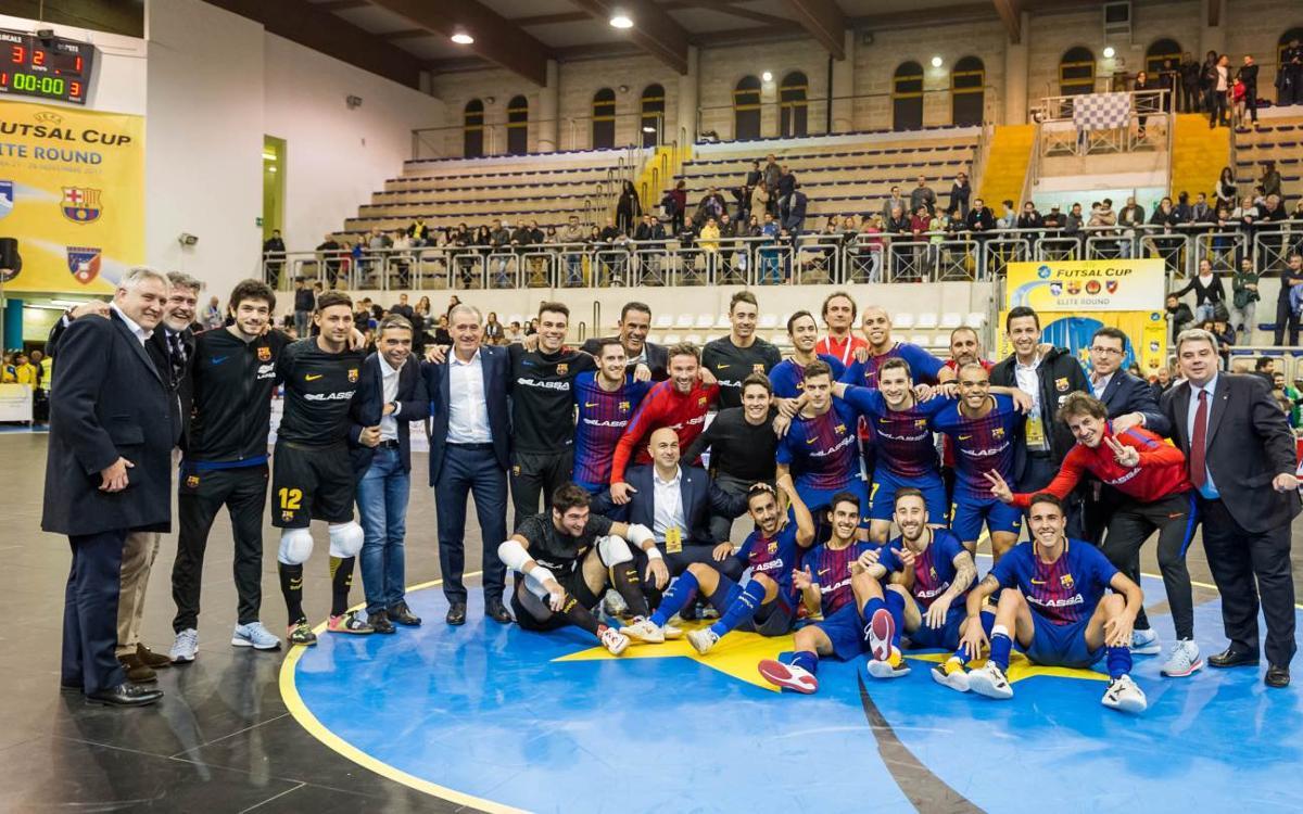 El Camp Nou acogerá el sorteo de la UEFA Futsal Cup