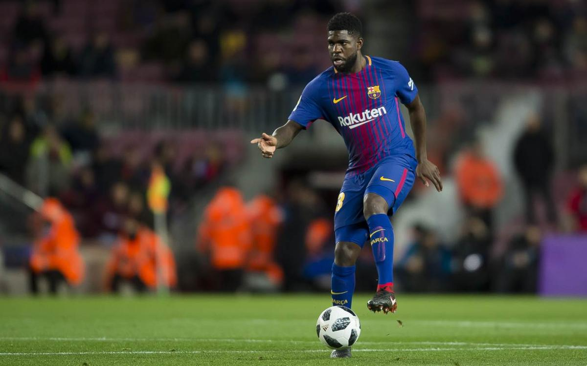 Umtiti's great game against Valencia