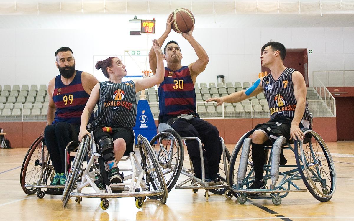 El UNES Barça quiere seguir con la buena dinámica