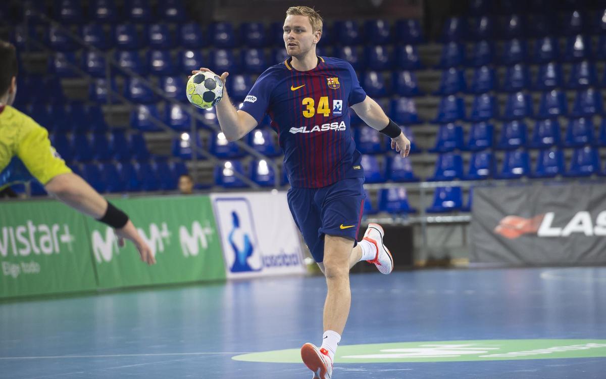 Pálmarsson estarà unes tres setmanes de baixa