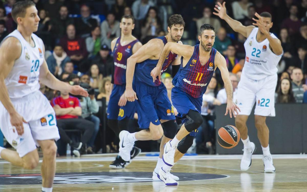 FC Barcelona Lassa - Real Madrid: Derrota en el Clásico de Euroliga (74-101)