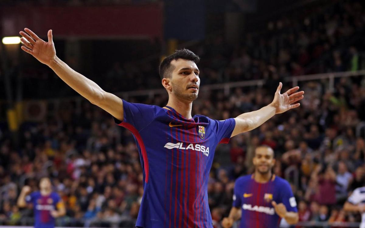 Barça Lassa – Ríos Renovables Zaragoza: One way traffic (11-1)