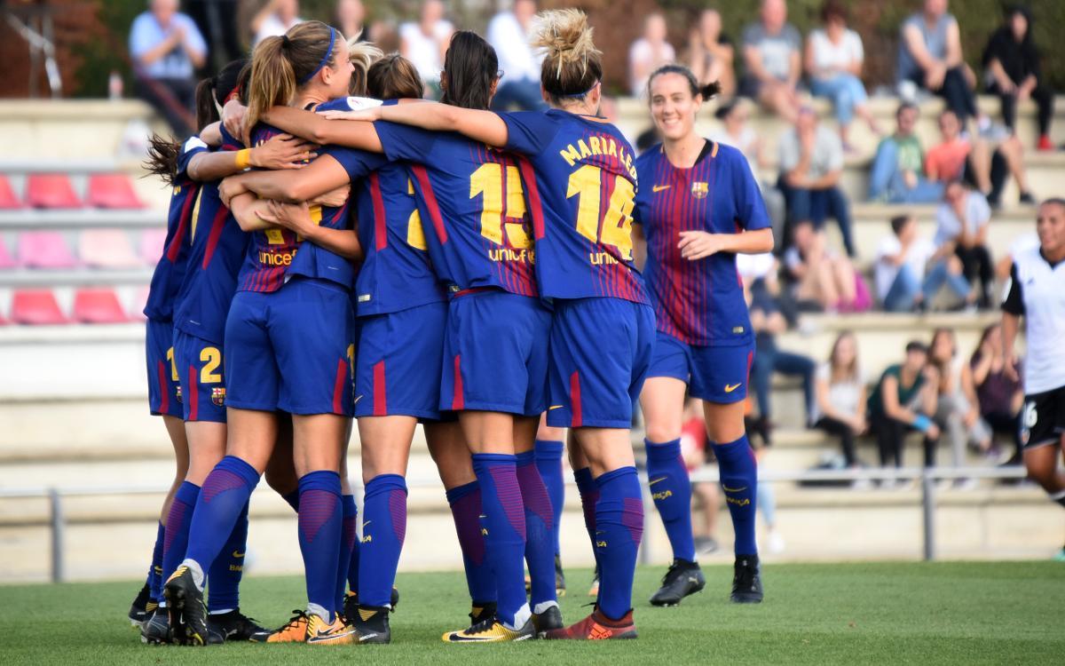 FC Barcelona Femení – València Femení: Continuen intractables (2-0)