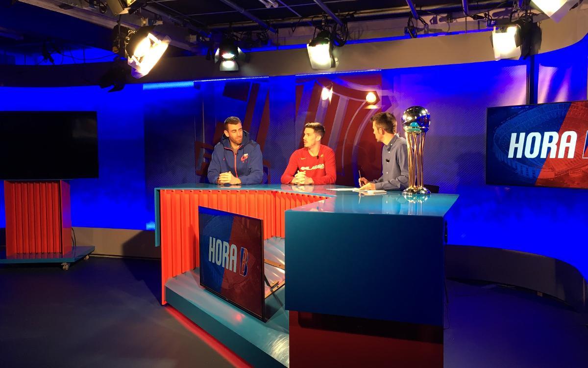 Thomas Heurtel i Victor Claver valoren el títol de la Copa del Rei a Barça TV