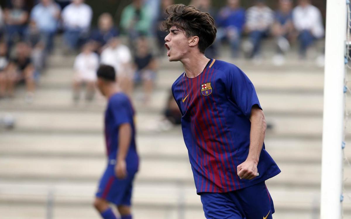 Girona - Juvenil A: Ataque y defensa de líder (0-3)
