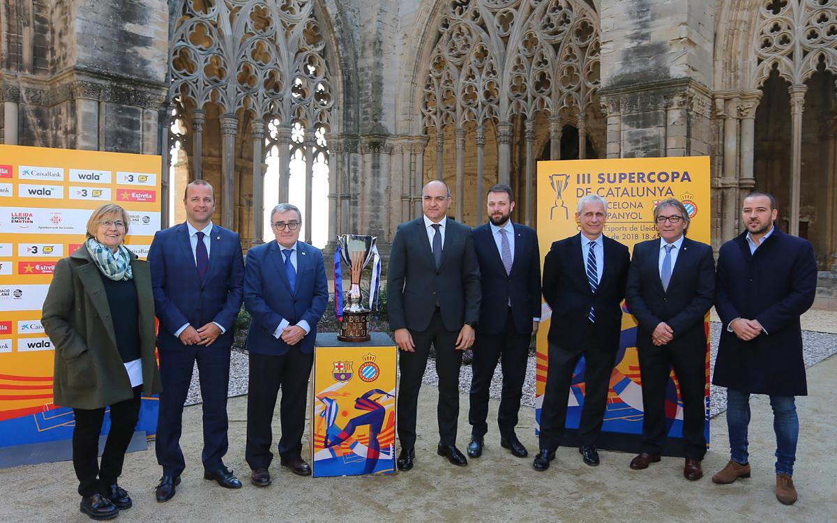 Presentada la Supercopa de Catalunya a Lleida