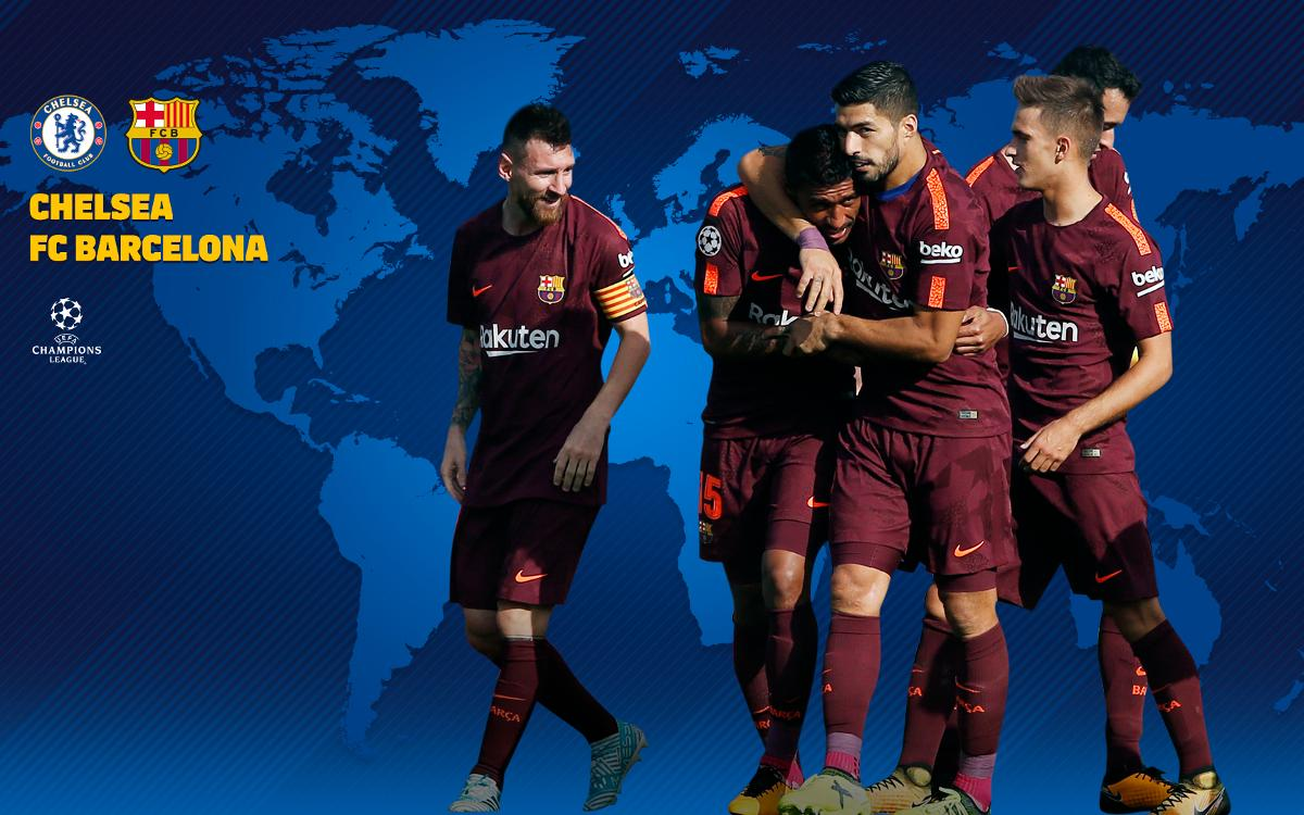When and where to watch Chelsea-FC Barcelona