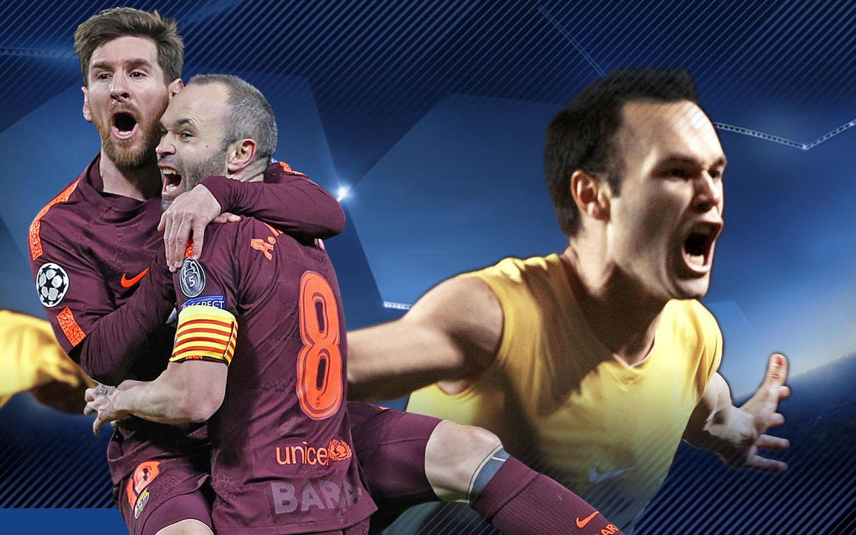 The Messi-Iniesta connection at Stamford Bridge