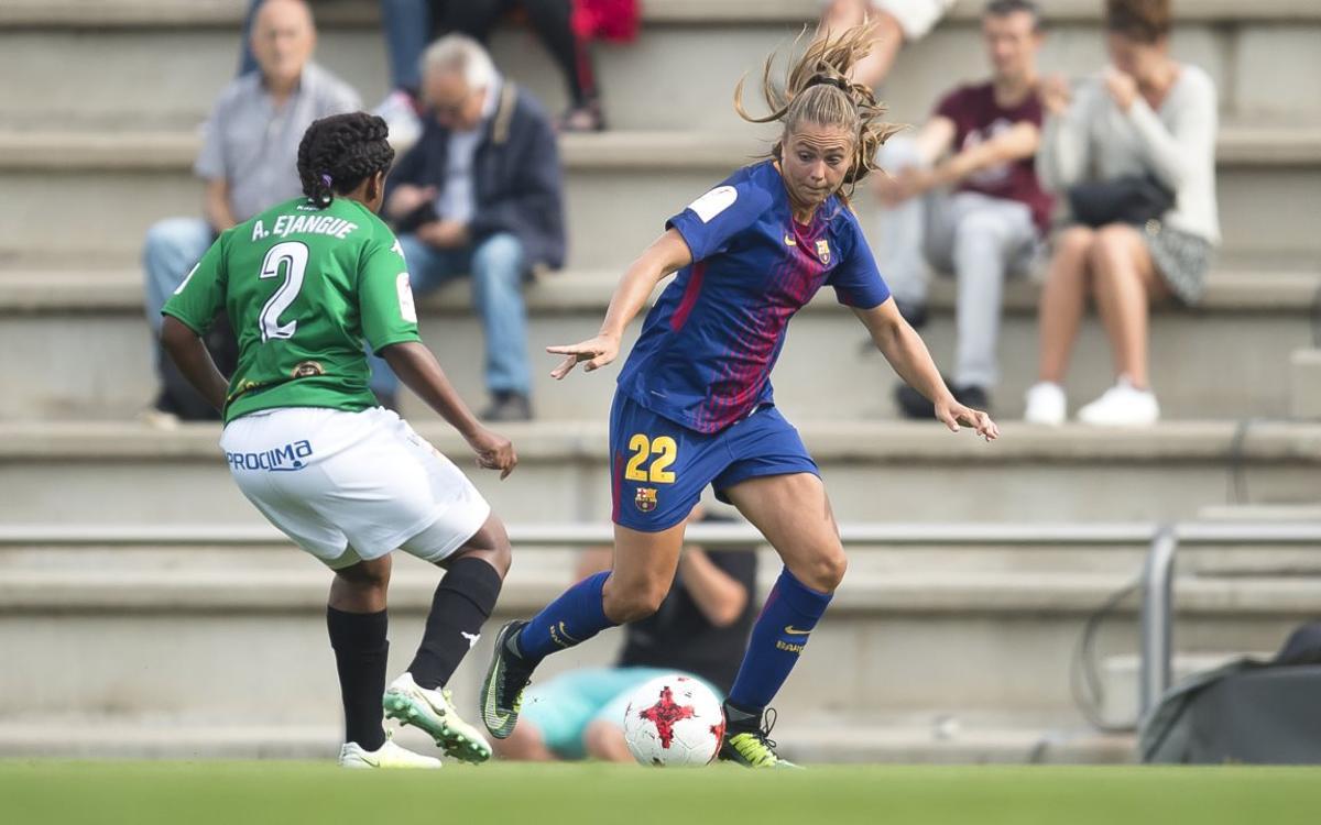 Santa Teresa - FC Barcelona Femenino: tres puntos difíciles en juego