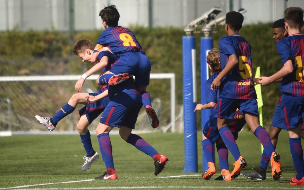 VIDEO: The Top 5 La Masia goals from February 17–18, 2018