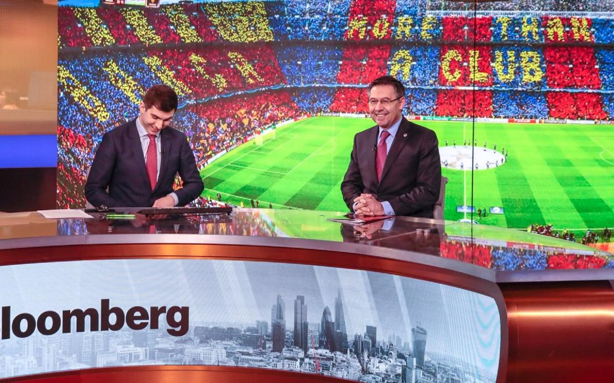 Josep Maria Bartomeu: Naming rights partner 'will probably bring us half of the investment' for Espai Barça