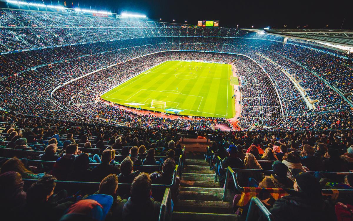 El Camp Nou, una fiesta