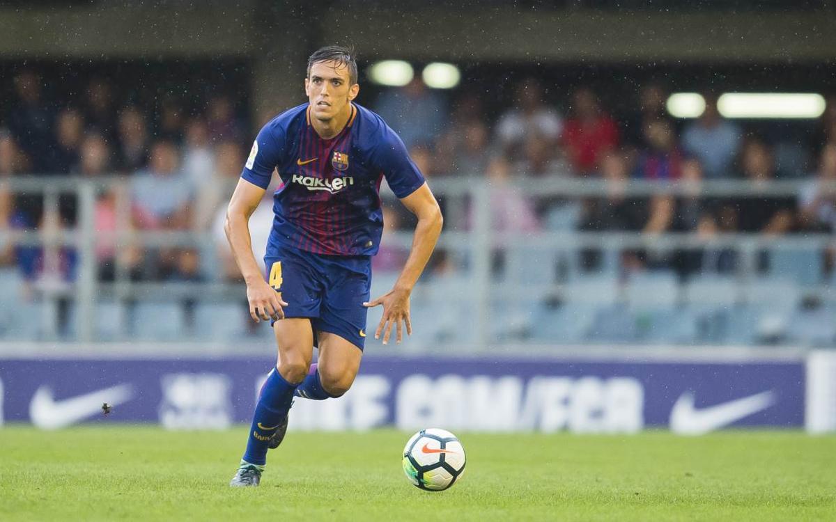 Martínez, 50 partits de blaugrana