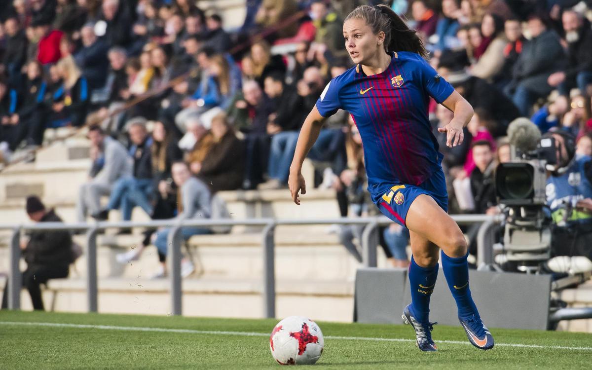 Femenino-Atlético: Domingo 11, en la Ciudad Deportiva, a las 20 horas