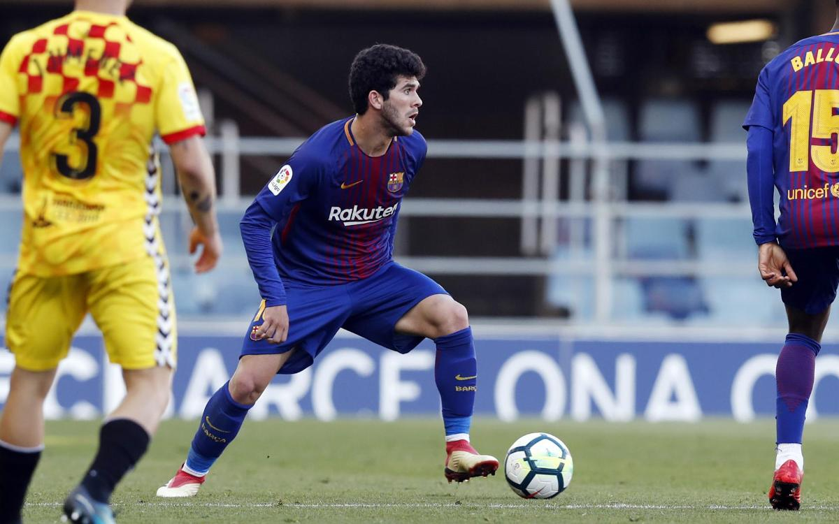 FC Barcelona B - Nàstic: Control without victory (1-1)