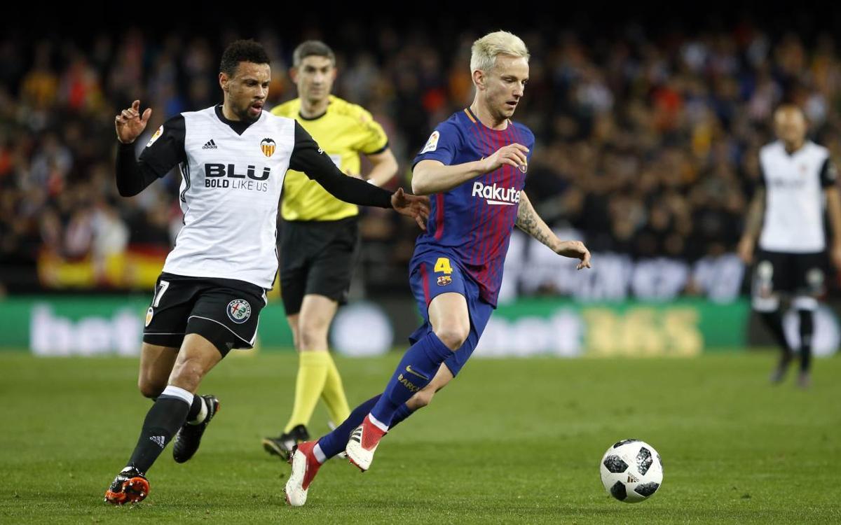 HIGHLIGHTS: Valencia v Barça