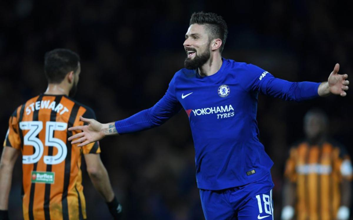 Chelsea rout Hull ahead of Barça visit (4-0)