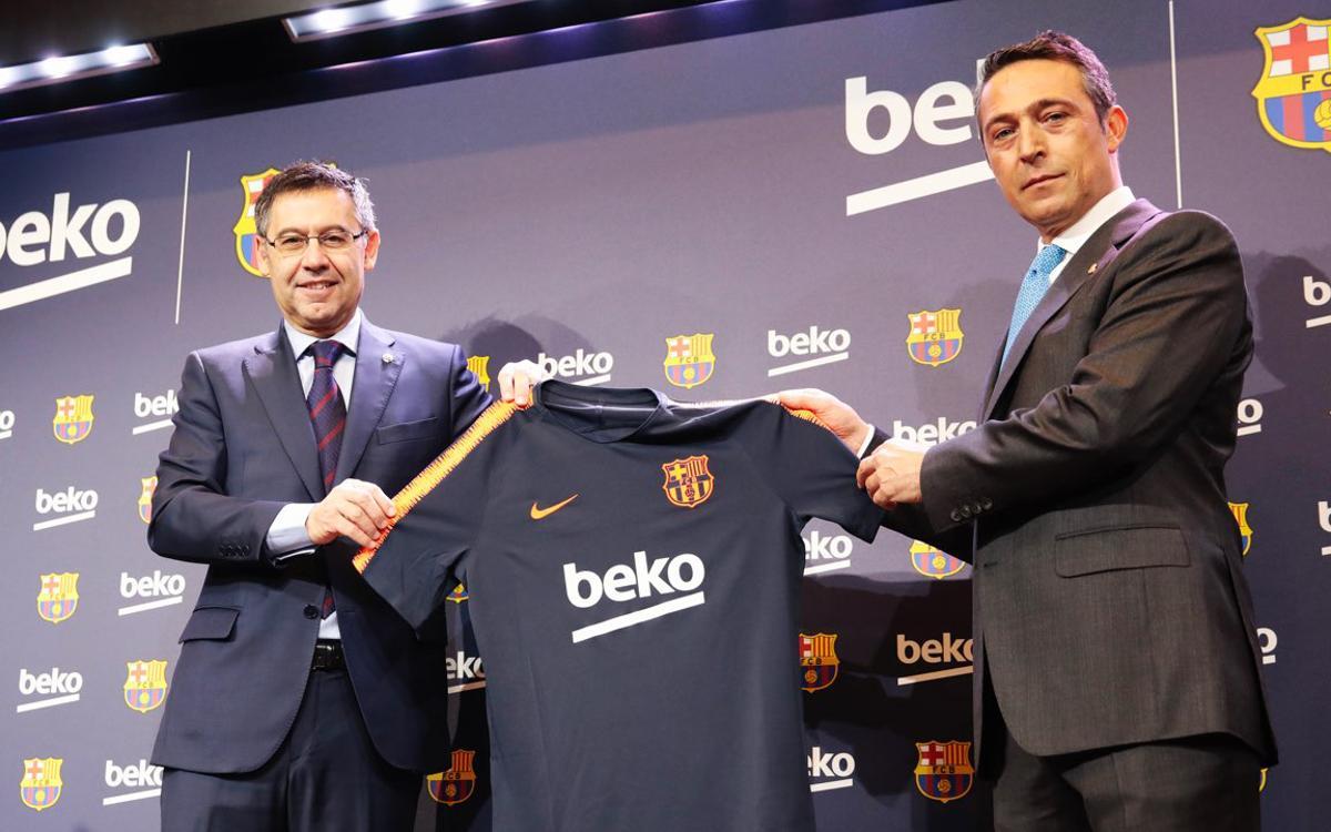 El FC Barcelona amplía el acuerdo de patrocinio con Beko