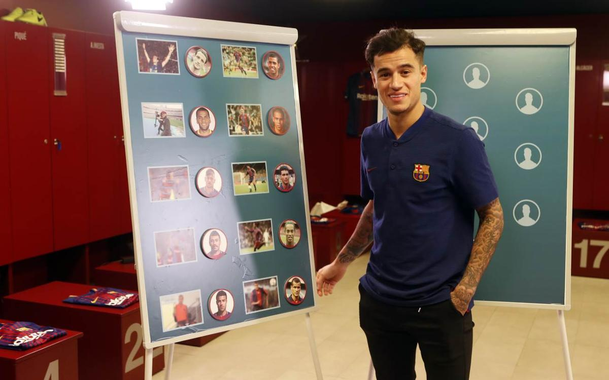 Can Coutinho name Barça's past Brazilians?