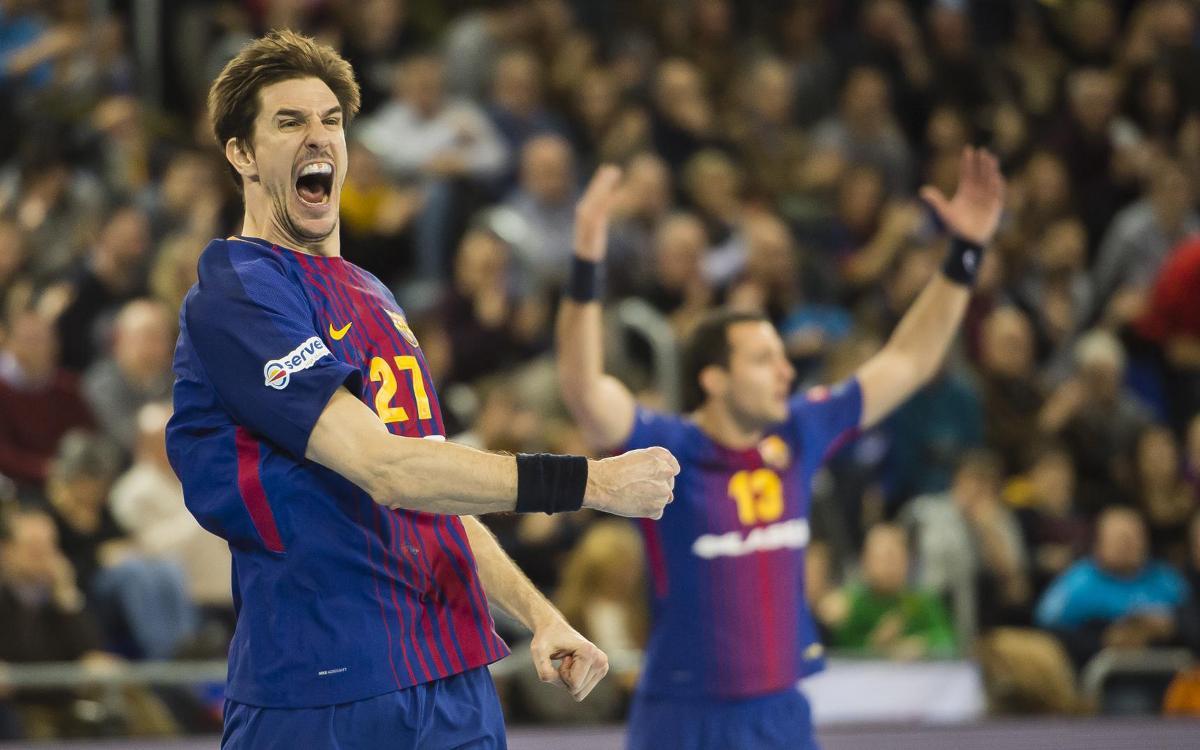 FC Barcelona Lassa – HC Vardar: Cop d'efecte contra el campió (29-28)