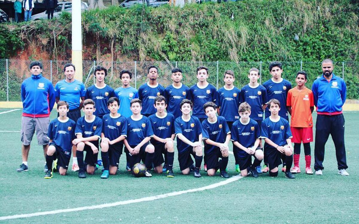 La FCBEscola Sao Paulo Sub11 y Sub13, a semifinales de la Copa Paulista