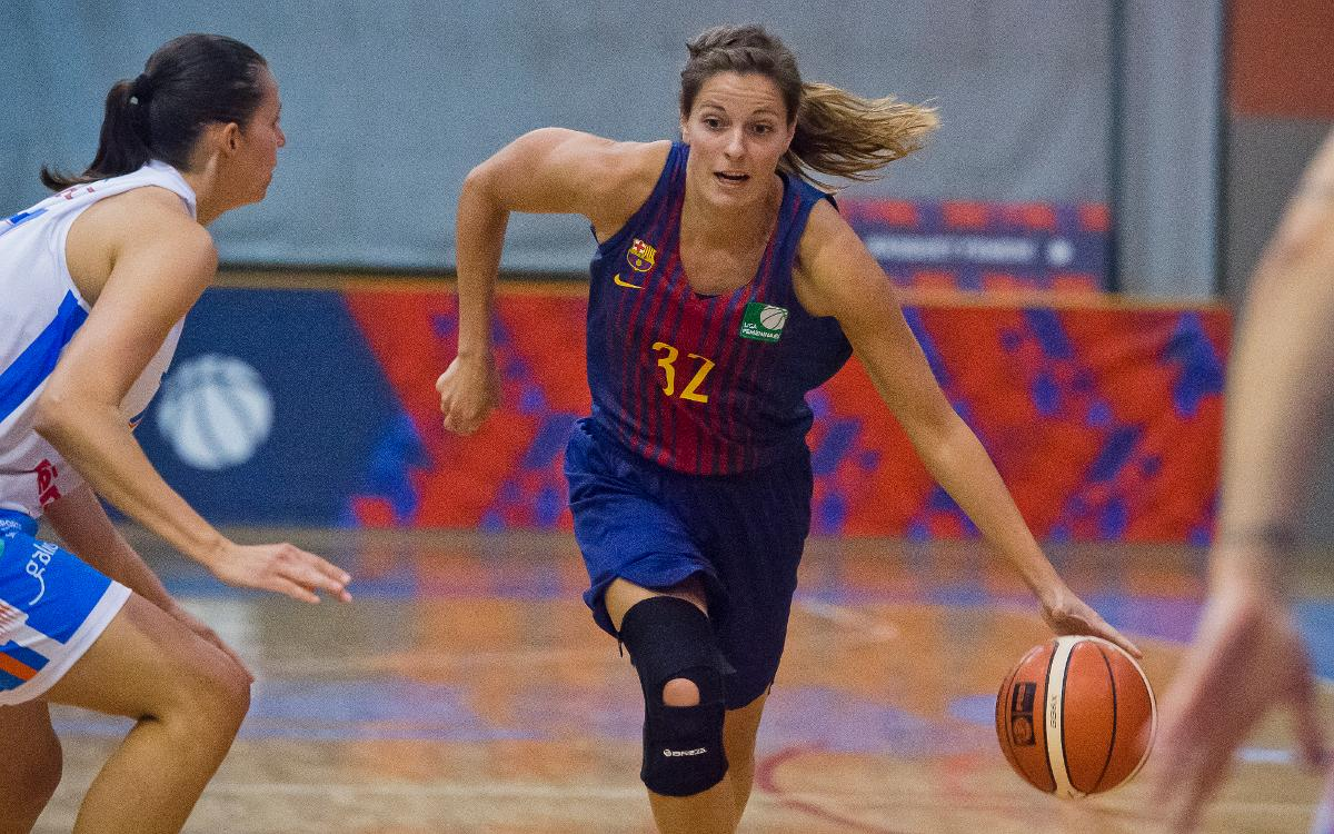 Basket Mar Gijón – Barça CBS: Tercer triomf consecutiu (56-57)
