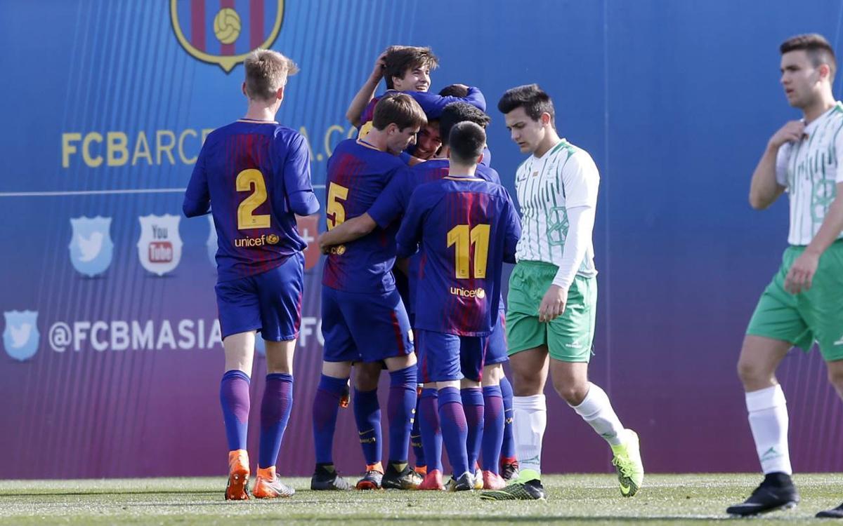 Vidéo - Le top 5 des buts de la Masia (10-11 février)