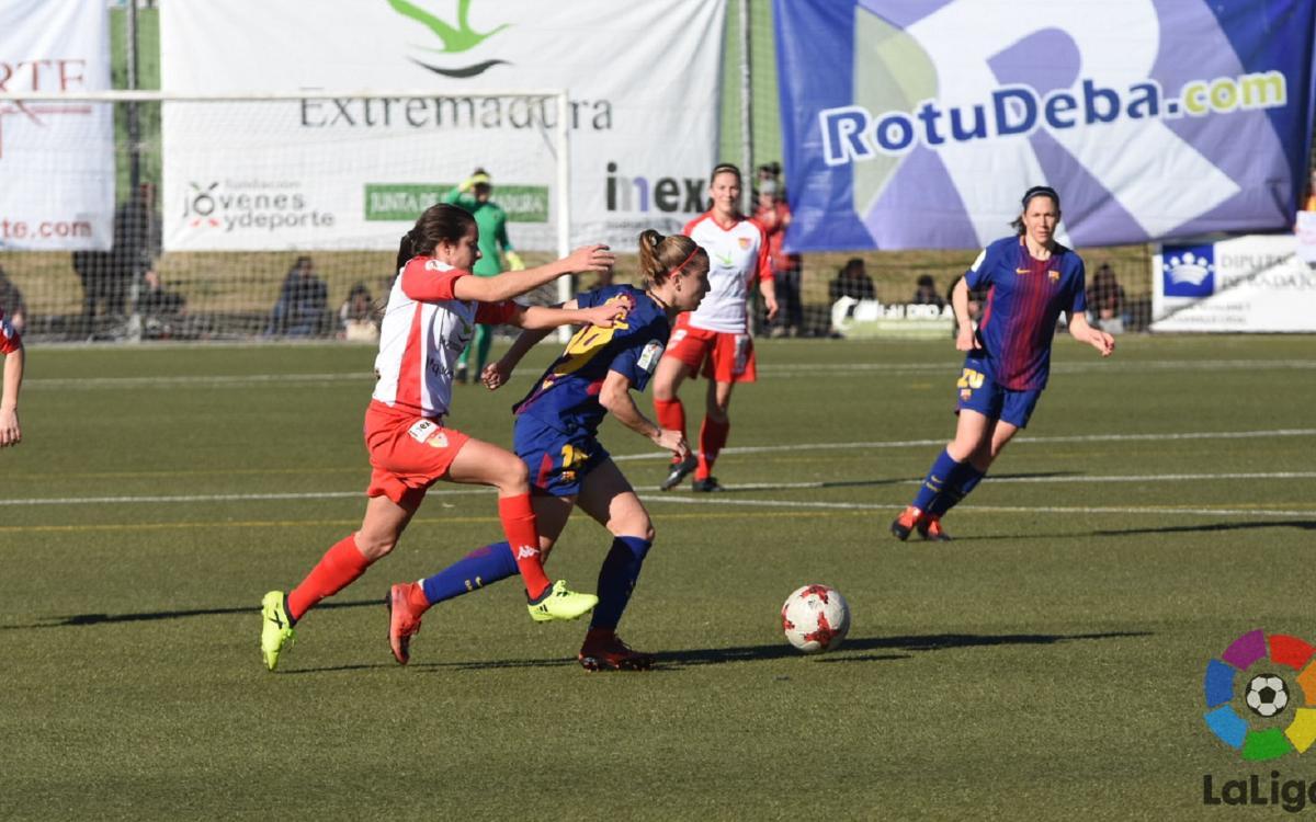 Santa Teresa - FC Barcelona Femenino: Un Barça muy superior se lleva los tres puntos del Vivero (0-3)