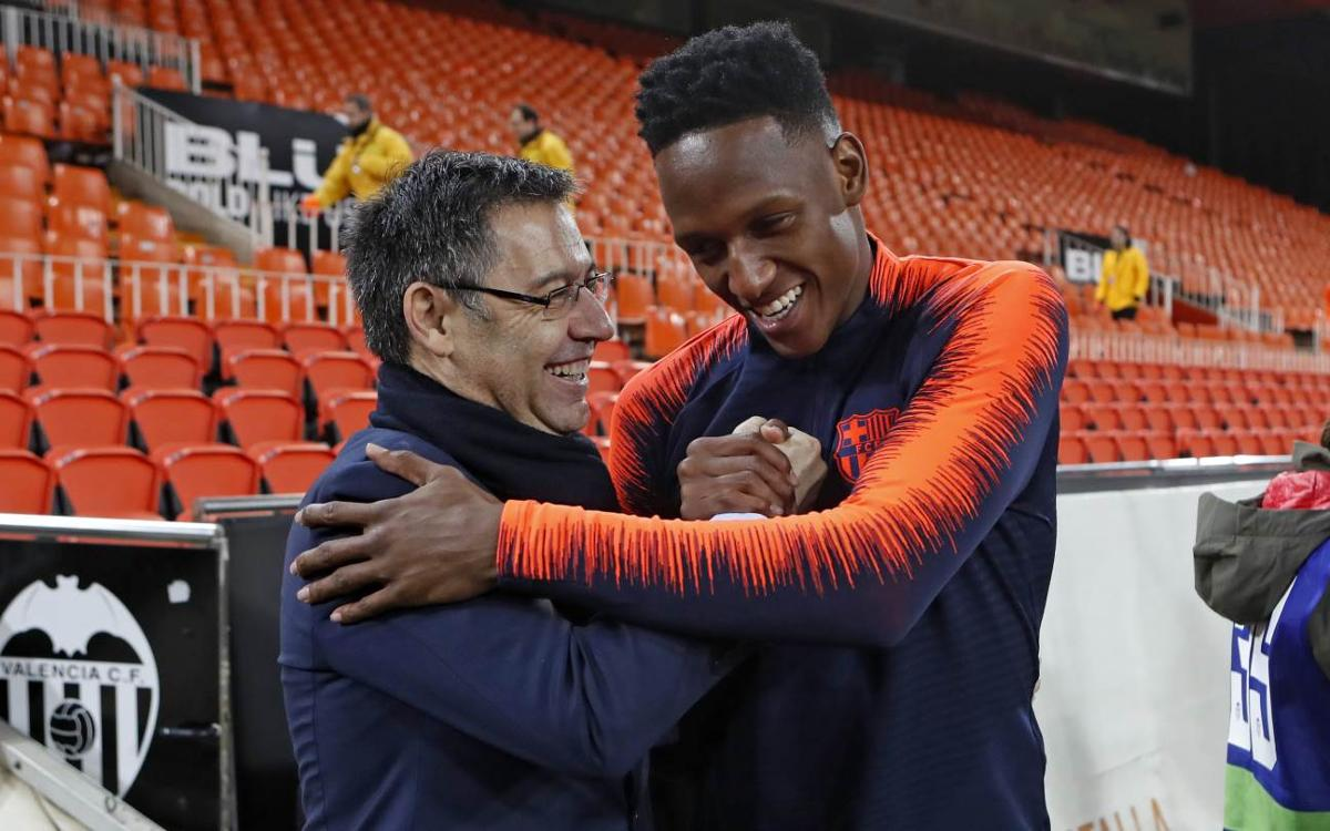 Las interioridades del debut de Yerry Mina