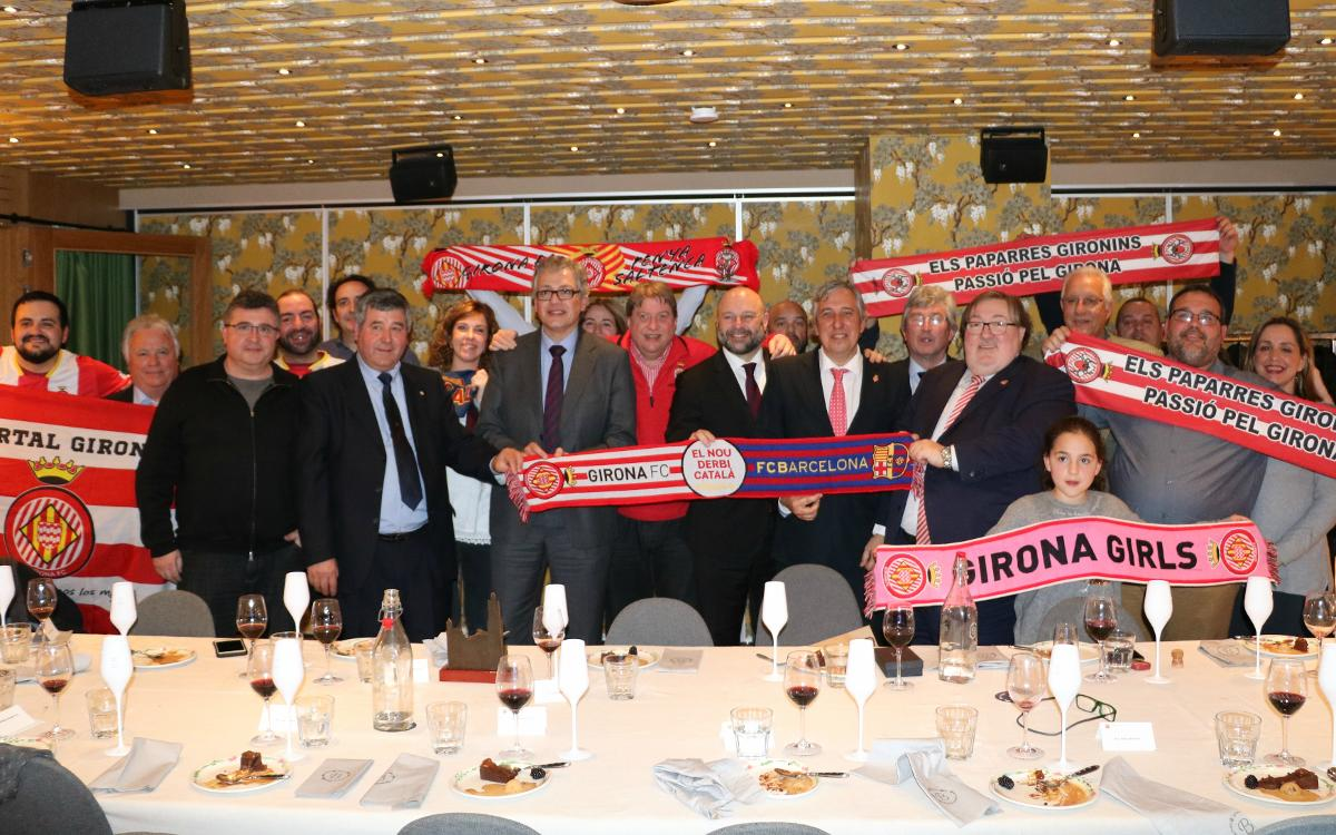 Institutional meeting before Barça vs. Girona