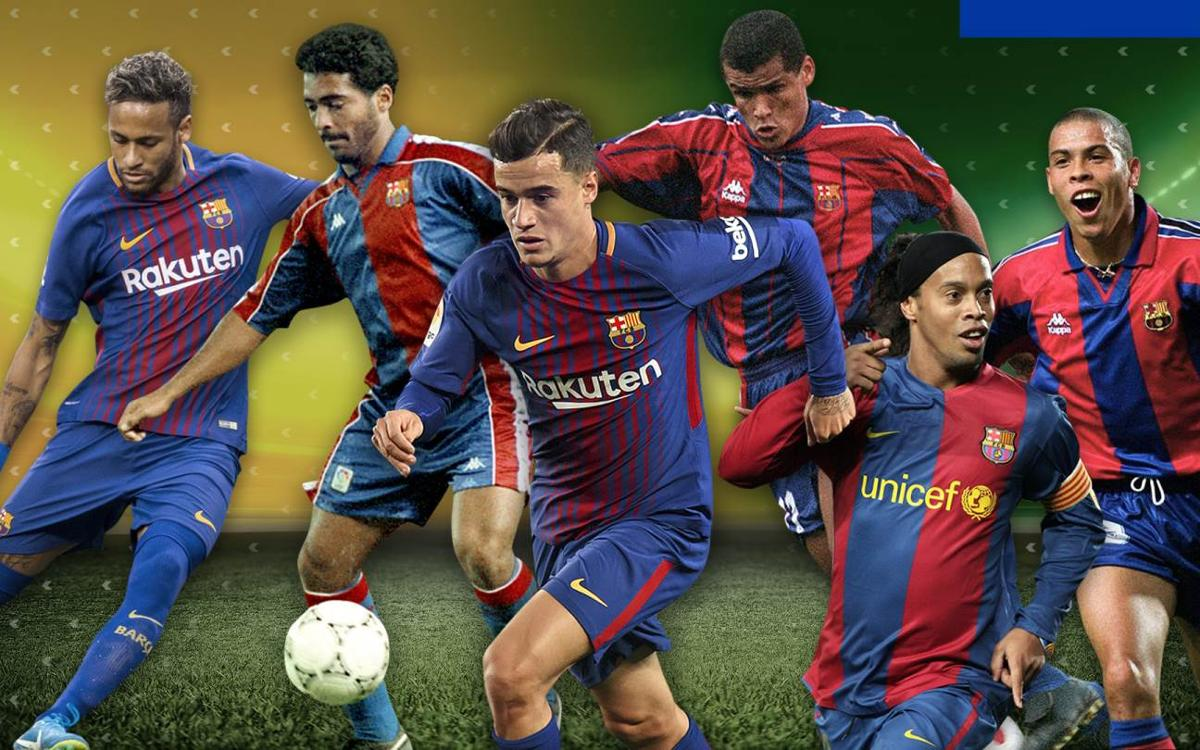 Les estrenes golejadores dels cracs brasilers del FC Barcelona