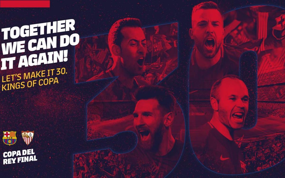 Copa del Rey final, 21 April