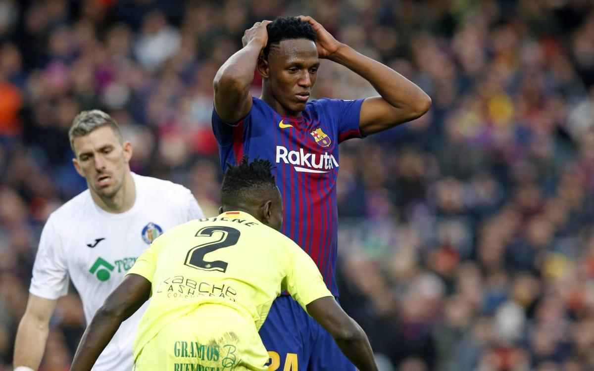 FC Barcelona – Getafe CF: Domini sense premi (0-0)