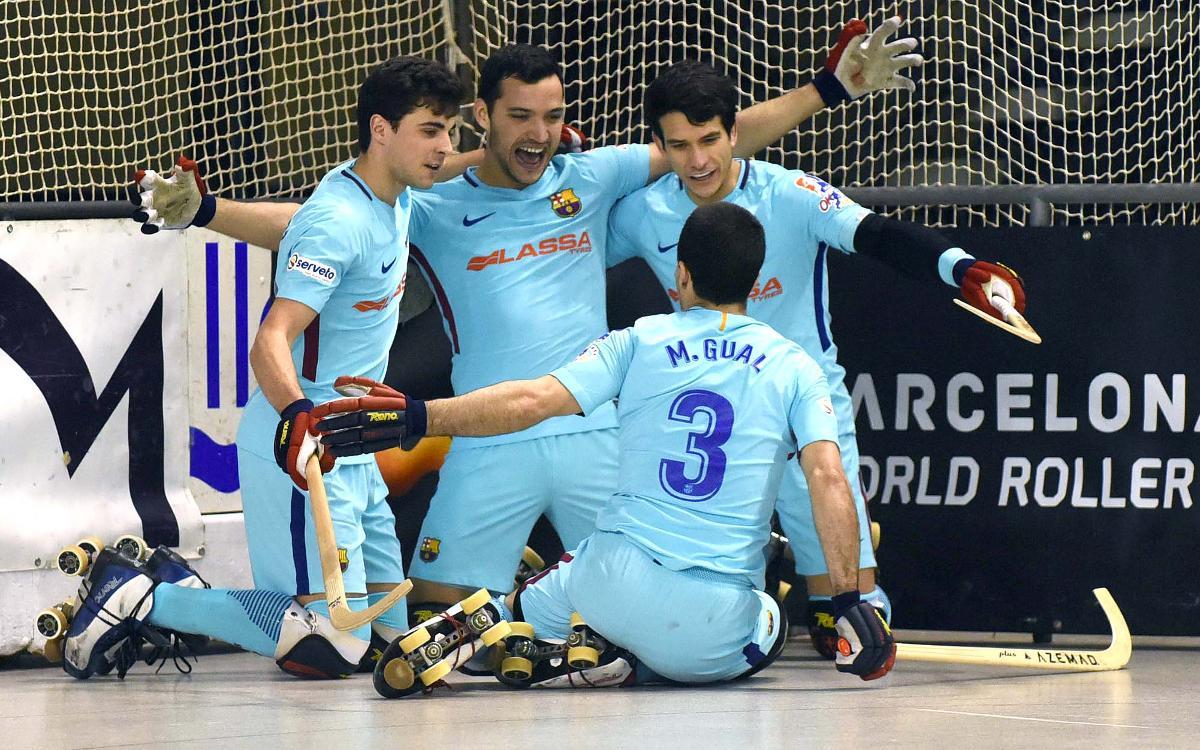 Reus Deportiu - Barça Lassa: A la final de Copa (1-3)