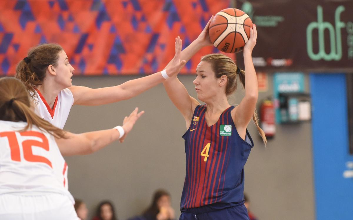 El Barça CBS rep el Basket Mar Gijón amb l'objectiu de mantenir-se una jornada més en posicions de playoff